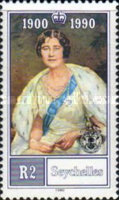 [The 90th Anniversary of the Birth of Queen Elizabeth the Queen Mother, 1900-2002, type UG]