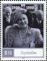[The 90th Anniversary of the Birth of Queen Elizabeth the Queen Mother, 1900-2002, type UH]
