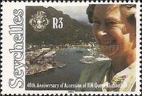 [The 40th Anniversary of Queen Elizabeth II's Accession, type VL]