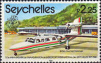 [The 10th Anniversary of Opening of Seychelles International Airport - Aircraft, type XLK]