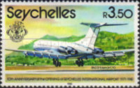[The 10th Anniversary of Opening of Seychelles International Airport - Aircraft, type XLL]