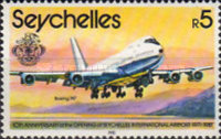 [The 10th Anniversary of Opening of Seychelles International Airport - Aircraft, type XLM]