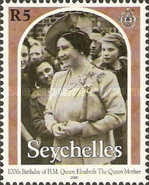 [The 100th Anniversary of the Birth of Queen Elizabeth the Queen Mother, 1900-2002, Typ YU]