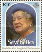 [The 100th Anniversary of the Birth of Queen Elizabeth the Queen Mother, 1900-2002, Typ YW]