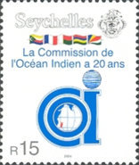 [The 20th Anniversary of the Indian Ocean Commission, Typ ZZ]