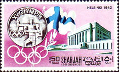 [Airmail - History of the Olympic Games, type PH]
