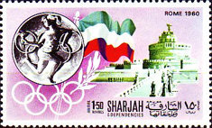 [Airmail - History of the Olympic Games, type PJ]