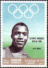 [Airmail - Athlete and Gold Medal Winner, type PU]