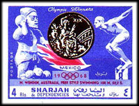 [Olympic Champions of Mexico, type QH]