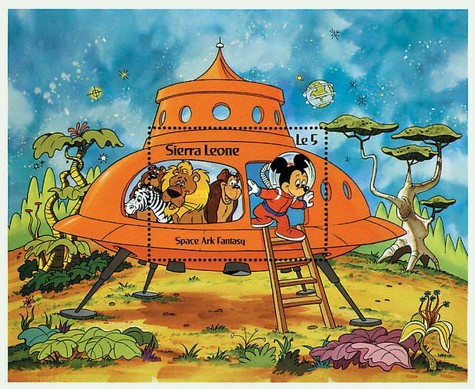 [Space Ark Fantasy - Walt Disney Cartoon Characters, Typ ]