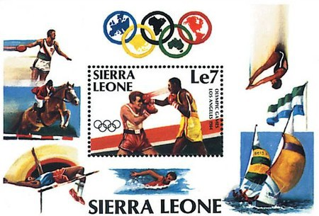 [Olympic Games - Los Angeles, USA, Typ ]