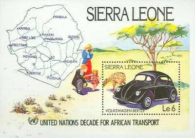 [United Nations Decade of African Transport, Typ ]