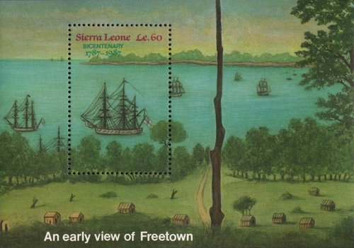 [The 200th Anniversary of Sierra Leone, Typ ]