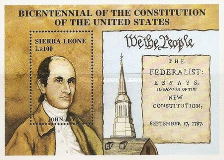 [The 200th Anniversary of U.S. Constitution, Typ ]