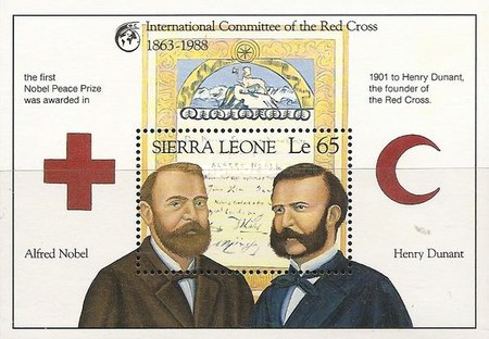 [The 125th Anniversary of International Red Cross, Typ ]