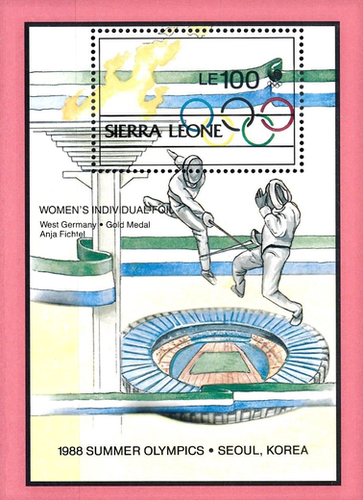 [Olympic Games Medal Winners - Seoul 1988, South Korea, Typ ]