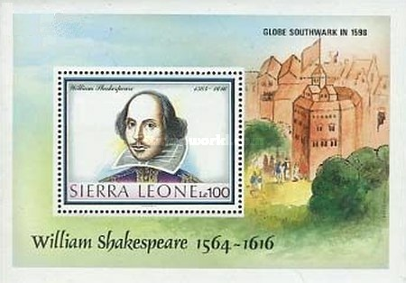 [The 425th Anniversary of the Birth of William Shakespeare, 1564-1616, Typ ]