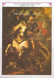 [The 350th Anniversary of the Death of Peter Paul Rubens, 1577-1640, Typ ]