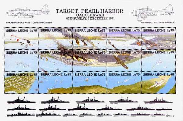 [The 50th Anniversary of Japanese Attack on Pearl Harbor, Typ ]