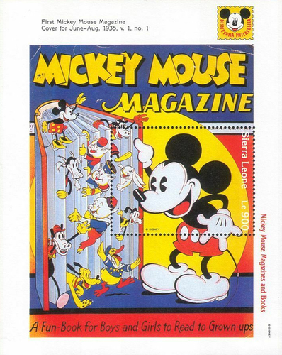 [Mickey Mouse in Literature, Typ ]