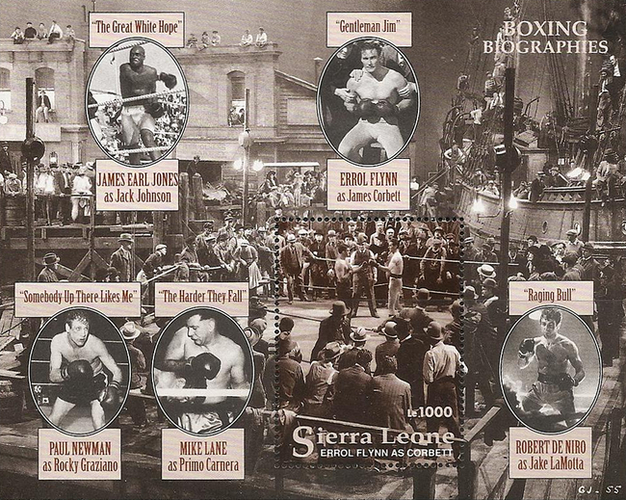 [The 100th Anniversary of Modern Boxing - World Champions, type ]