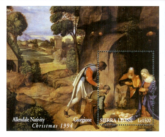 [Christmas - Religious Paintings, Typ ]