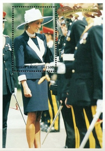 [Diana, Princess of Wales Commemoration (1997), Typ ]