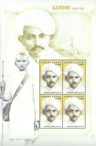 [The 50th Anniversary of the Death of Mahatma Gandhi, 1869-1948, Typ ]