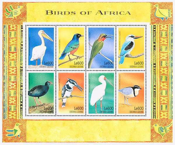 [Birds of Africa, Typ ]