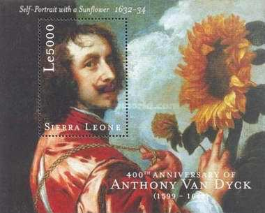 [The 400th Anniversary of the Birth of Sir Anthony Van Dyck (Flemish Painter), 1599-1641, Typ ]