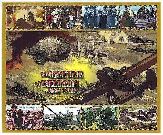 [The 60th Anniversary of the Battle of Britain, Typ ]