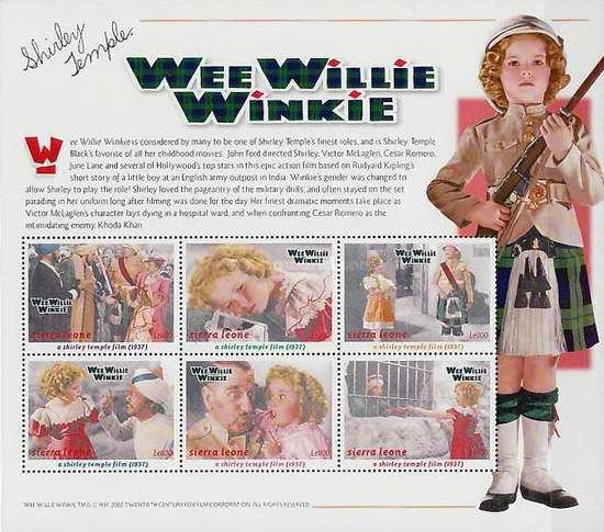 [Shirley Temple in Wee Willie Winkie, Typ ]