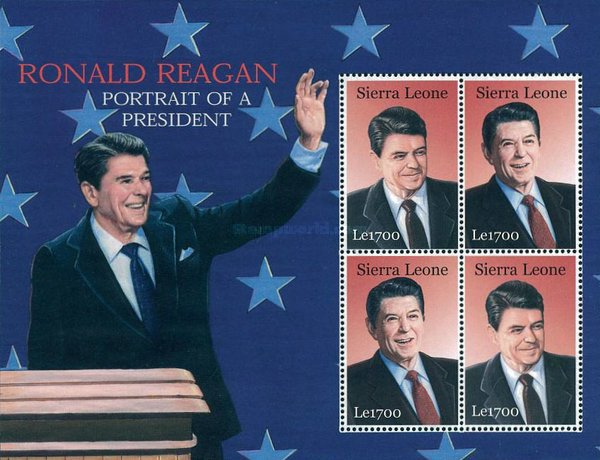 [The 91st Anniversary of the Birth of Ronald Reagan, 1911-2004, Typ ]