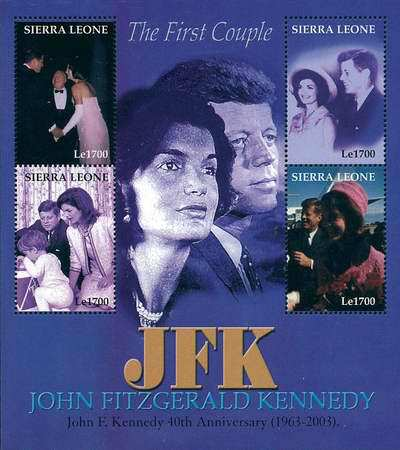 [The 40th Anniversary of the Death of John F. Kennedy, 1917-1963, Typ ]