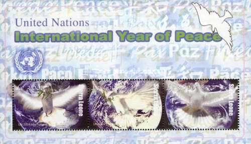 [United Nations International Year of Peace, Typ ]