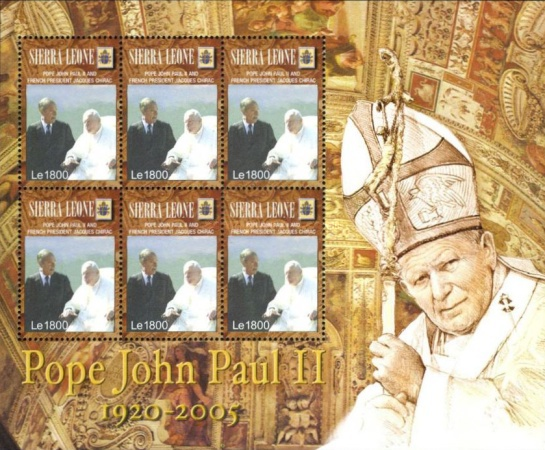 [The Death of Pope John Paul II, Typ ]