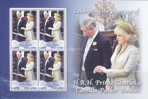 [Royal Wedding - Prince Charles & Camilla Parker Bowles, Typ ]