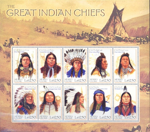 [Great Indian Chiefs, Typ ]