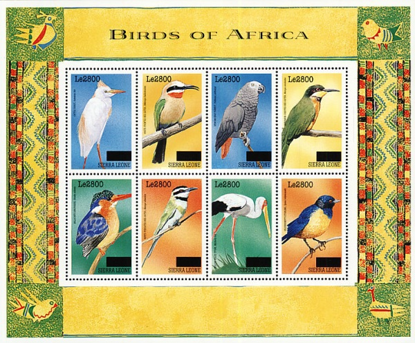 [Birds - Issue of 1999 Surcharged, Typ ]