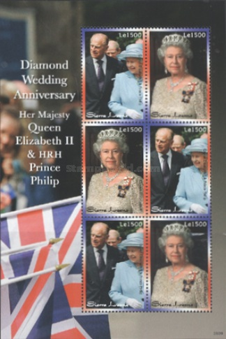 [The 60th Anniversary (2007) of the Wedding of Queen Elizabeth II & Prince Philip, Typ ]