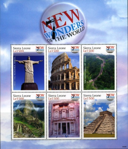 [New Seven Wonders of the World, Typ ]