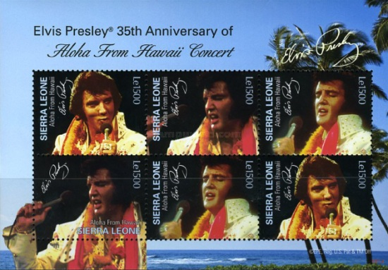 [Elvis Presley, 1935-1977 - The 35th Anniversary of Aloha from Hawaii, Typ ]