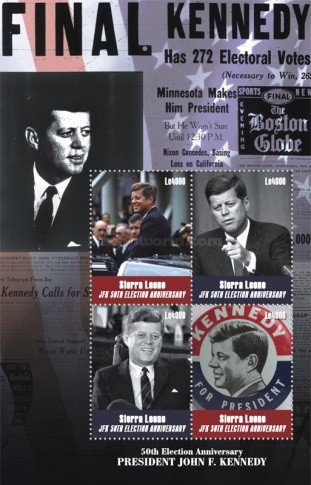 [The 50th Anniversary of the Election of J. F. Kennedy, 1917-1963, Typ ]