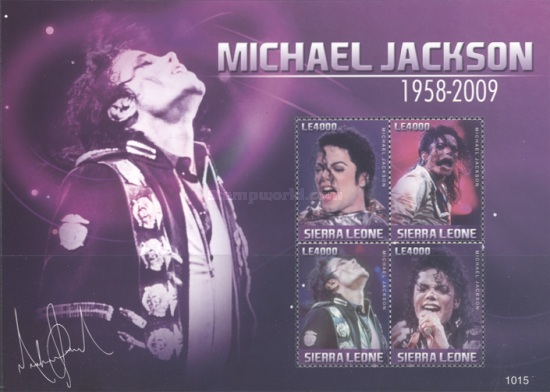 [The 1st Anniversary of the Death of Michael Jackson, 1958-2009, Typ ]