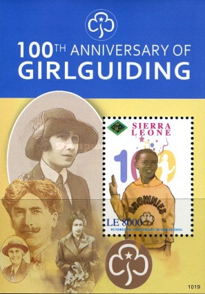 [The 100th Anniversary of Girlguiding, Typ ]