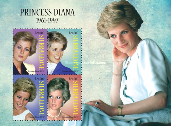 [Princess Diana, 1961-1997, Typ ]