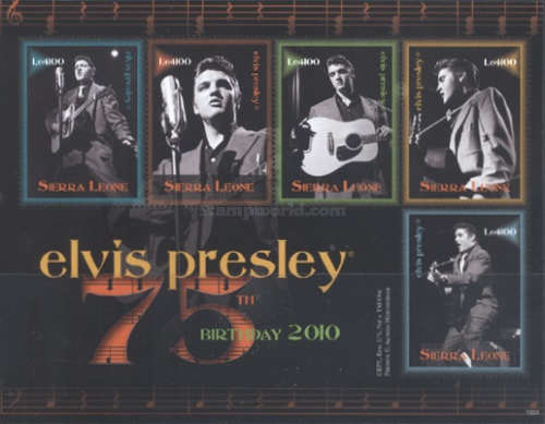 [The 75th Anniversary (2010) of the Birth of Elvis Presley, 1935-1977, Typ ]