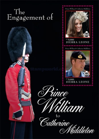 [Royal Engagement - Prince William & Catherine Middleton, Typ ]
