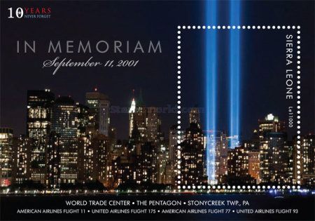 [The 10th Anniversary of the September 11th 2001 Terririst Attack, Typ ]
