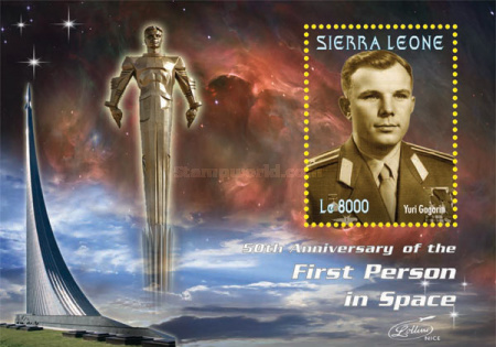 [The 50th Anniversary of the First Man in Space, Typ ]